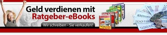 Geld verdienen mit eBooks - Wir schreiben - Sie verkaufen!